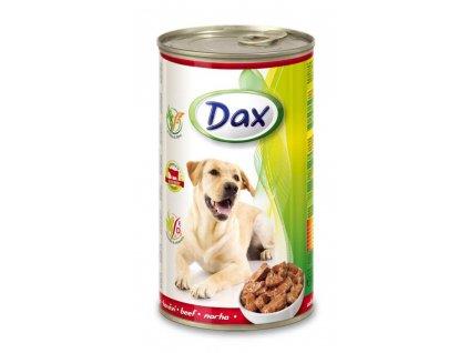DAX  kousky DOG 1240g HOVĚZÍ-(Balení 12 kusů)