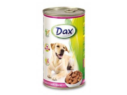 DAX  kousky DOG 1240g TELECI -(Balení 12 kusů)