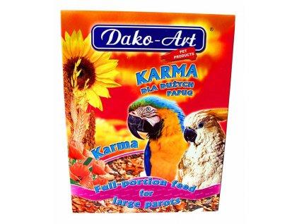 Dako Krmivo velký papoušek 800g-10284