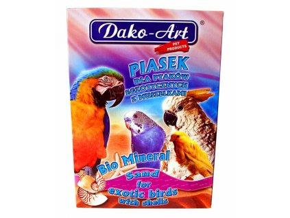 Minerální písek s mušlemi pták Dako 1 kg