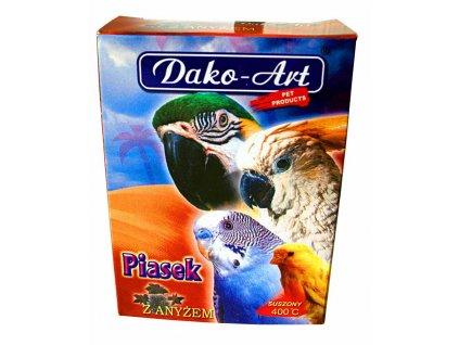 Minerální písek s mušlemi Dako 250 g