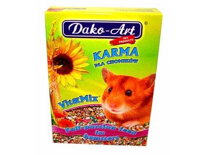Krmivo křeček Dako 500 g