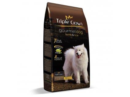 Triple Crown Dog Gourmet Lamb 15 kg