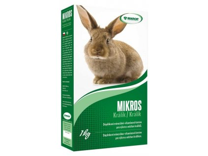 MIKROS králík 1 kg