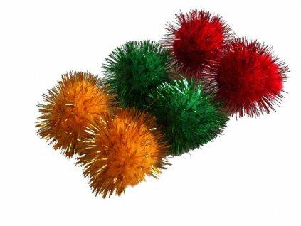 Míček ježek měkký 4 cm