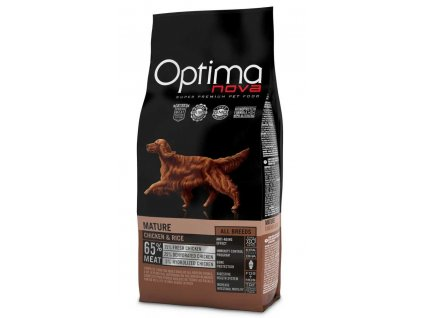 OPTIMAnova Dog Mature Chicken & Rice 2 kg
