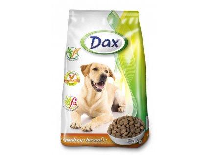 DAX granule DOG DRŮBEŽ 3kg-(balení 6 Kusů)