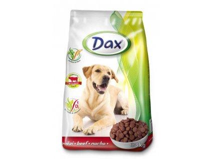 DAX granule DOG HOVĚZÍ 3kg-(balení 6 kusů)