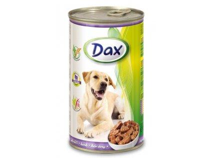 DAX  kousky DOG 1240g JEHNĚ-(Balení 12 kusů)
