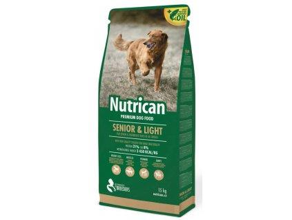 Nutrican Dog Senior & Light 15 kg + 2 kg ZDARMA