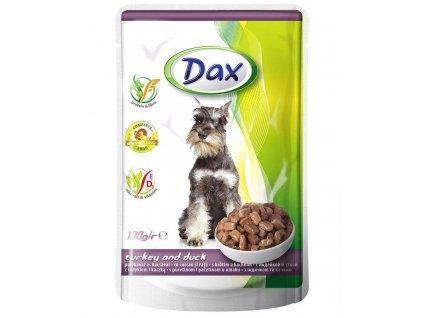 Dax kapsa DOG KRŮTA+KACHNA 100g-(Balení 24 kusů)
