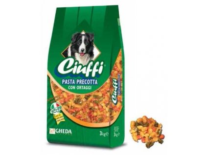 Ciuffi Pasta Precotta (předvařené těstoviny se zeleninou) 3 kg