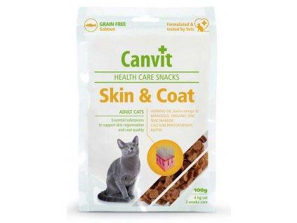 Canvit SNACKS Cat Skin & Coat 100 g