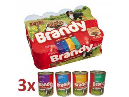 Brandy Variety Chunks in Loaf pack 12x395g