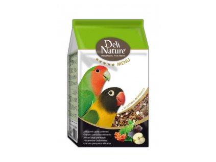 Deli Nature 5 Menu africký velký papoušek 800 g