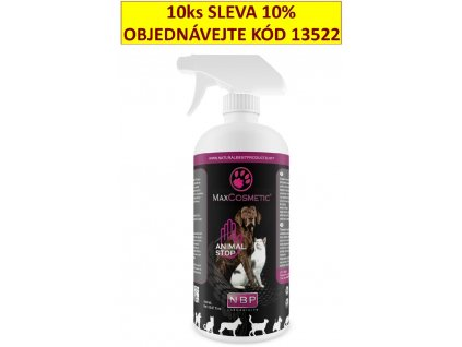 Max Cosmetic Animal Stop zákazový sprej 500 ml