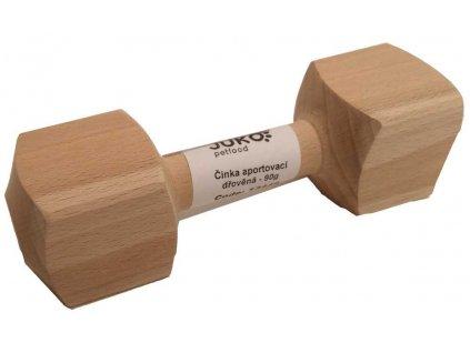 Aportovací činka dřevěná JUKO XS 90 g