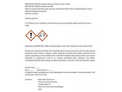 Max Biocide Collar Dog 75cm antip.obojek-12KS-!CZ!-13513