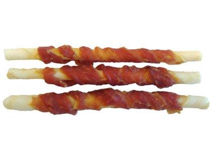 Buvolí tyčinka obalená kachním masem JUKO Exclusive Snacks 12,5 cm (6 ks)