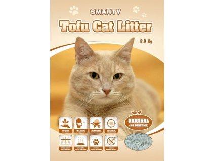 Smarty Tofu Cat Litter Original podestýlka bez vůně 6 l