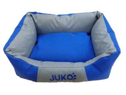Pelíšek odolný JUKO modrá S 55x42x17 cm
