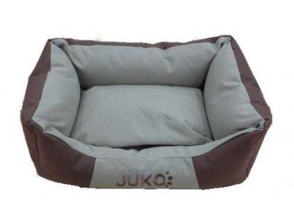 Pelíšek odolný JUKO hnědá S 55x42x17 cm