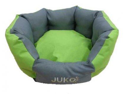 Pelíšek odolný JUKO koruna zelená S 53x47x21 cm