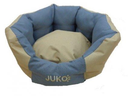 Pelíšek odolný JUKO koruna béžová M 58x52x23 cm