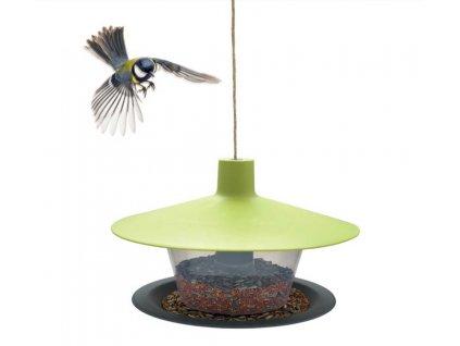 Krmítko venkovní Finch talíř zelená