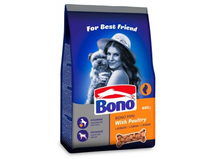 Bono Adult Mini Drůbeží 400 g