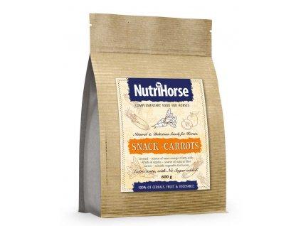 NutriHorse Snack (pochoutka pro koně) Carrot 600 g