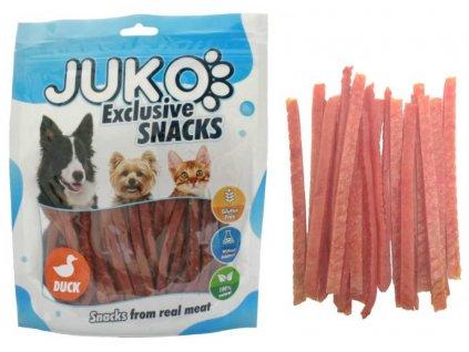 JUKO SNACKS Duck strips 250 g