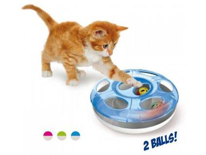 Hračka kočka Labyrint Ufo Georgeplast