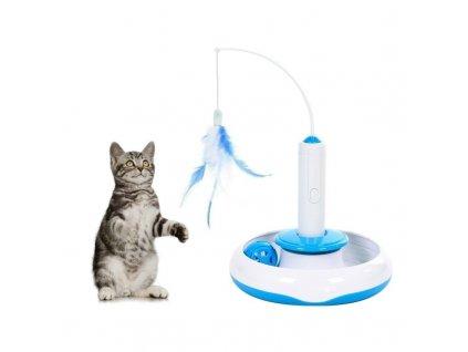 Interaktivní hračka pro kočku 3v1