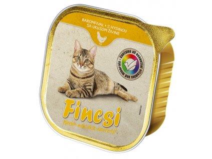 Fincsi Cat vanička Poultry 100g-(Balení 16 kusů)