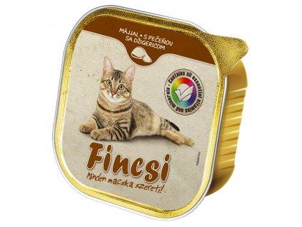 Fincsi Cat vanička Liver 100g-(Balení 16 kusů)
