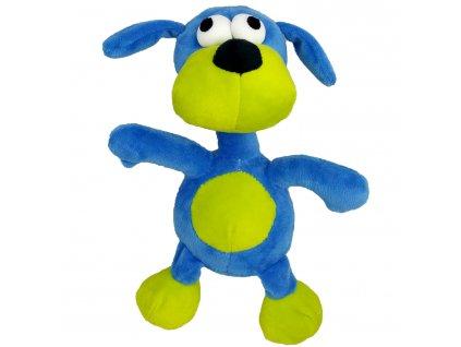 Hračka pes - plyšový pes pískací 20 cm