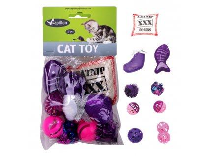 Hračka kočka mix (10 ks)