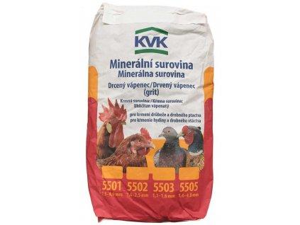 Vápenný grit KVK 25 kg