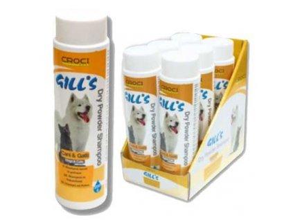 GILLS suchý pudrový šampon 200 g