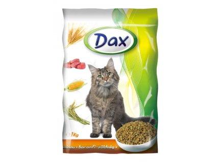 DAX granule CAT DRŮBEŽ+ZELENINA 1kg-(balení 8Ks)