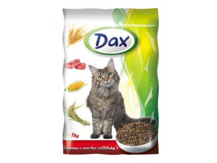 DAX granule CAT HOVĚZÍ+ZELENINA 1kg-(balení 8 Kusů)
