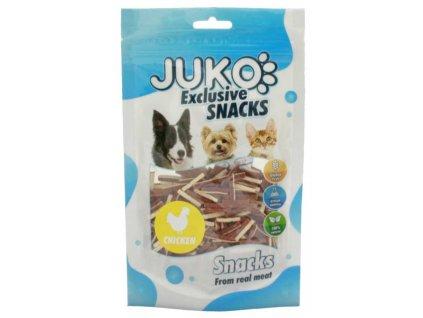 JUKO SNACKS Mini Chicken & Liver & Fish stick 70 g