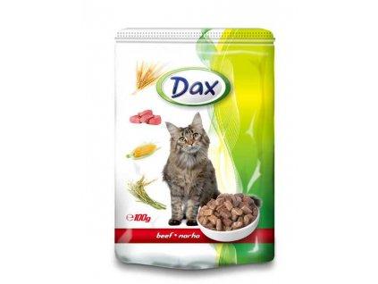 DAX kapsa CAT HOVĚZI 100g-9434-!CZ!(Balení 24 kusů)