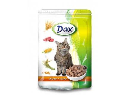 DAX kapsa CAT KUŘECÍ 100g-(Balení 24 kusů)