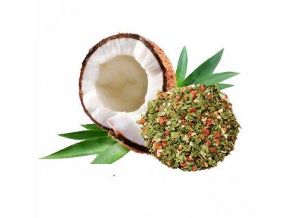 Kokosový olej ochucený- PROVENSÁLSKÉ KOŘENÍ Puritas® 500ml DÓZA