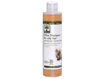 BIOselect® Olivový šampon na mastné vlasy 200ml Bioselect®