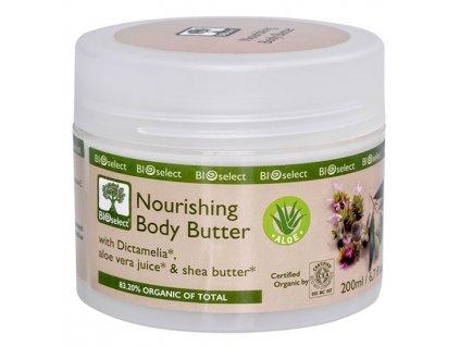 BIOselect® Pečující tělové máslo s Aloe vera 200ml BIOselect®