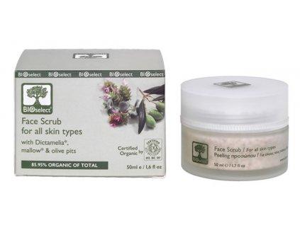 BIOselect® Peeling na obličej s olivovými jádry 50ml BIOselect®