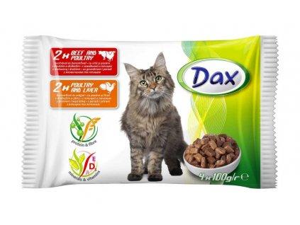 Akce DAX kapsa CAT v omáčce 4x100g